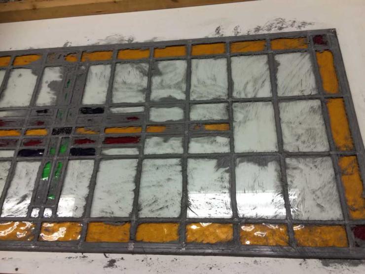 Glas in lood jaren '30 woning