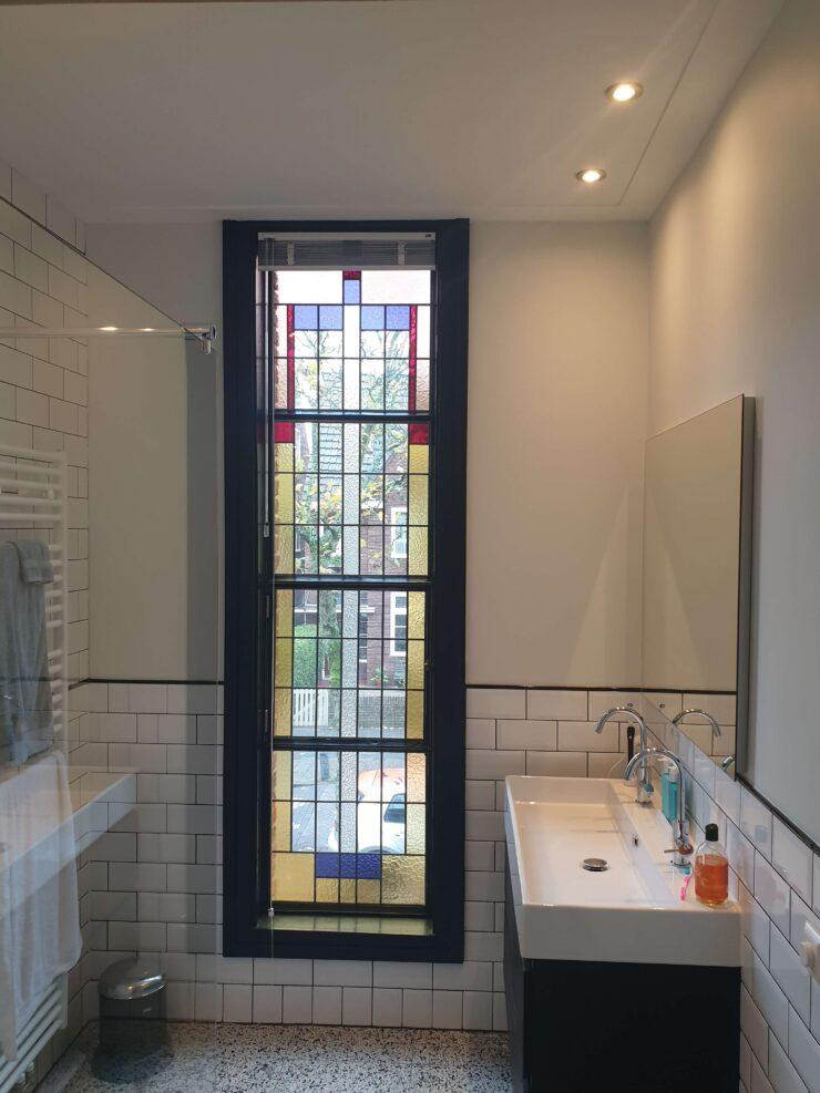 Badkamer raam isoleren