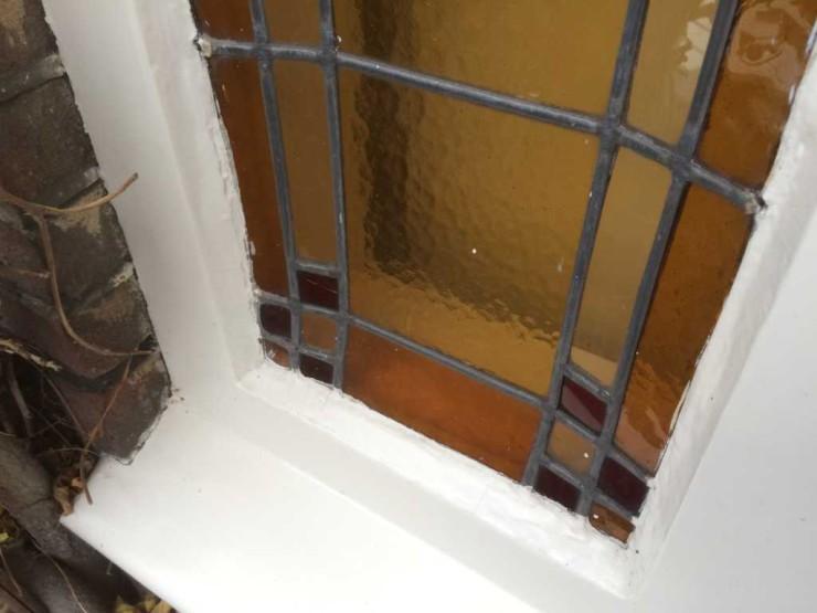 Opnieuw verloden verouderde ramen
